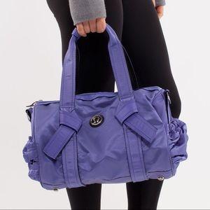 Lululemon Purple DTB Mini Duffle Bag